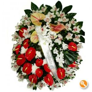 Coroa Fúnebre Encantada