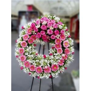 Coroa Fúnebre Pink Beauty