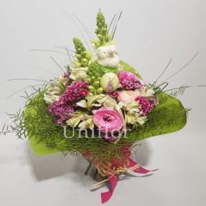Bouquet Pascoal Rosa