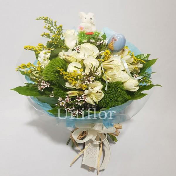 Bouquet Pascoal Azul