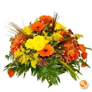 Bouquet cor de laranja - Fiona