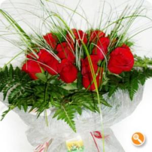 Bouquet de rosas vermelhas - Escaldante