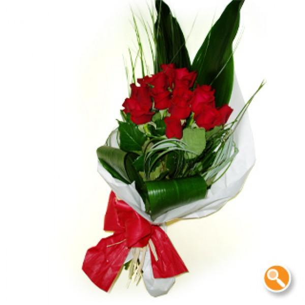 Ramo de rosas vermelhas - Calipo vermelho