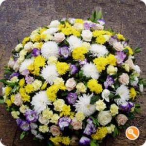 Coroa fúnebre Violeta