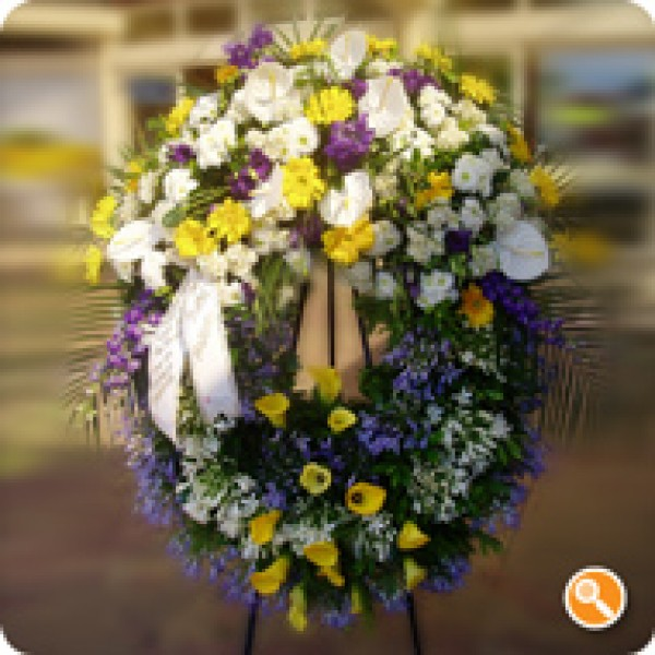 Coroa Fúnebre Efemero