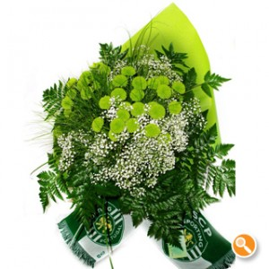 Margarida verde - Bouquet Sporting