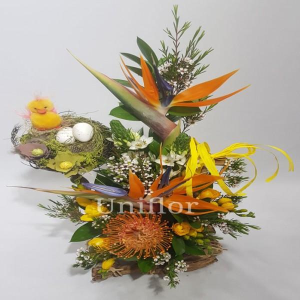 Arranjo de flores Ninho