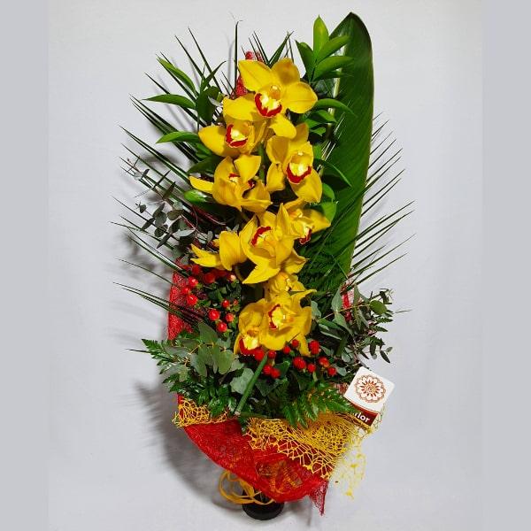 Orquídea amarela