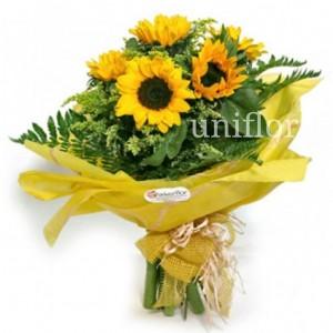 Bouquet de Girassóis - Adoro-te