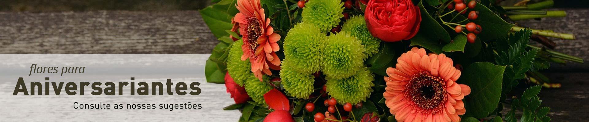 Flores para Aniversariantes